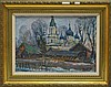 Shilintsev Russian 1991 Kazan Church Painting