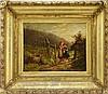 Edith Hume European Bucolic Genre Scene Painting