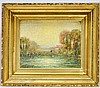 Domenico Riccitelli Rhode Island O/B Painting, Domenico Riccitelli, Click for value