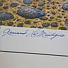 Signed Armand LaMontagne Homerun Lithograph Print
