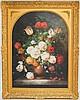 Francois Gabriel Botanical Painting of Flowers