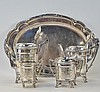 Taunton Silverplate Victorian Aesthetic Tea Set