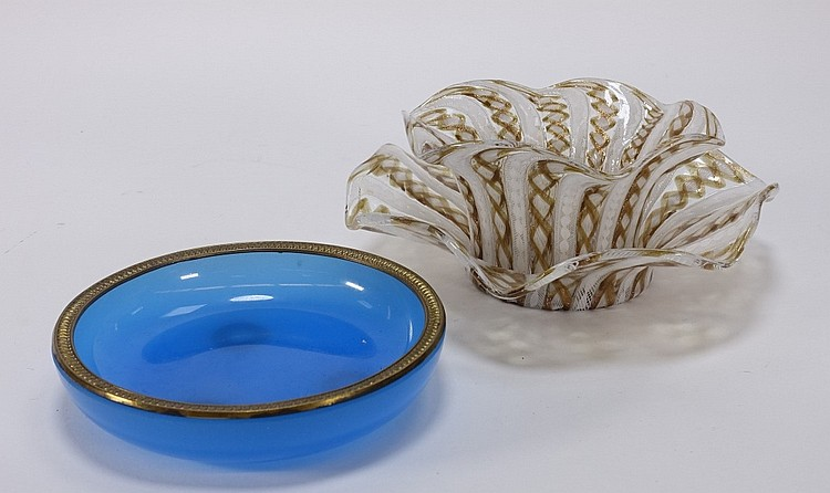 Group Italian Venetian & French Opaline Glass