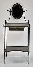 Solid Bronze One Draw Dressing Make-Up Table
