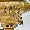 2 Russian Brass Samovar Containers
