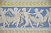 Italian Della Robbia Style Pottery Cherub Frieze