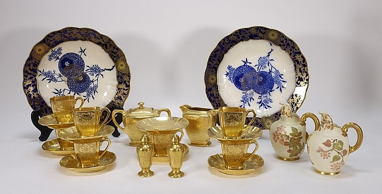Stouffer Royal Worcester Burslem Porcelain Group