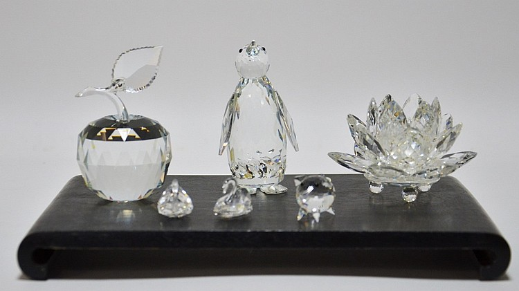 Swarvoski Crystal Animal Floral Figure Grouping
