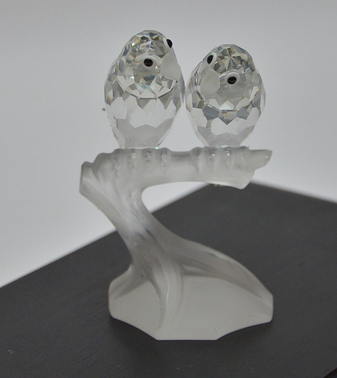 Swarovski Crystal 1987 Togetherness The Lovebirds