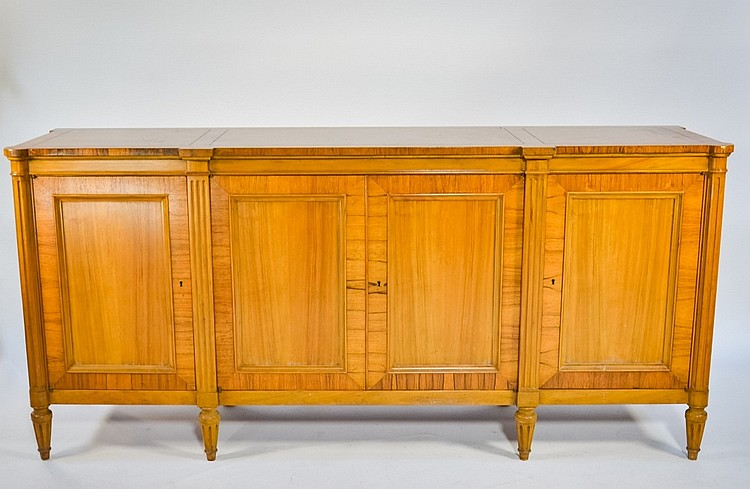 Baker Furniture Banded Inlaid Mahogany Buffet