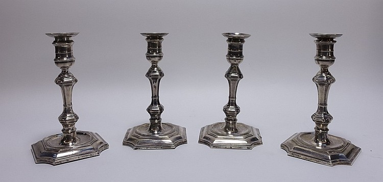 2 PR James Kebberling Bembridge Silver Candlestick