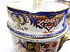 PR English Staffordshire Imari Decorated Cache Pot