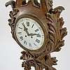 Large French 19C. Patinated Bronze Cartel Clock