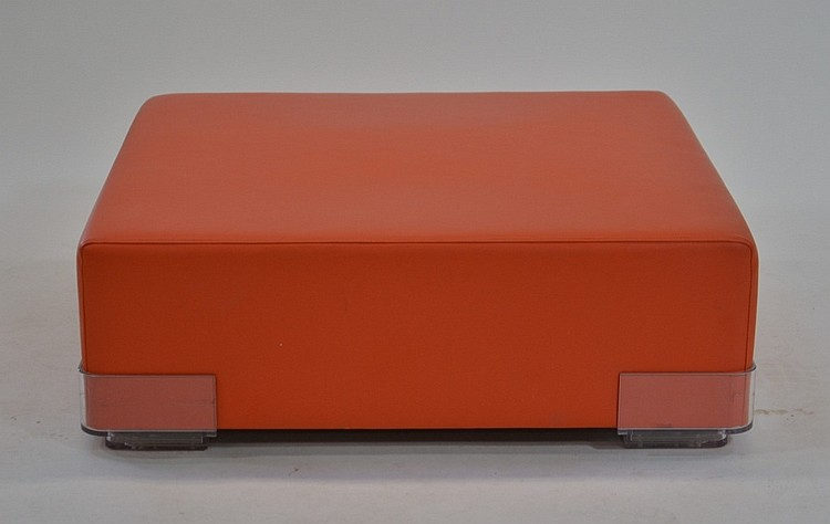 Kartell Louis Italian Ottoman by Piero Lissoni