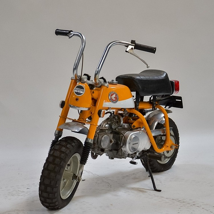 1969 Honda Z50A K1 Short Tail Trail Mini Bike