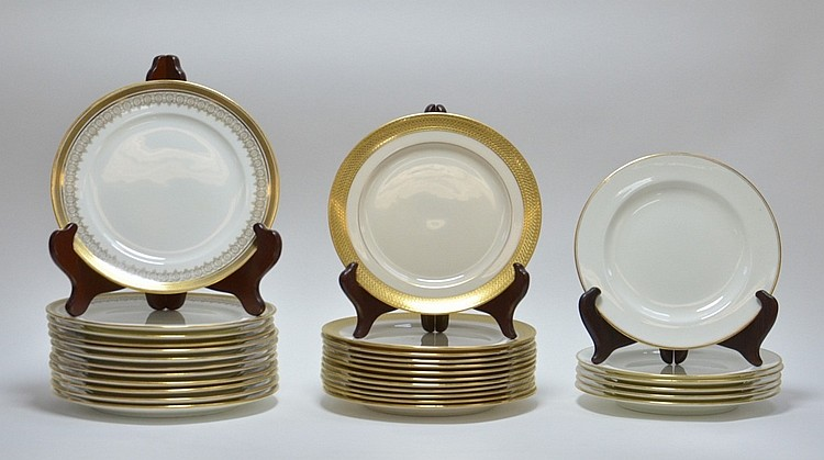 Estate Porcelain Plates Cauldon Tiffany Co. Lenox