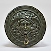 European Medusa Rondanini Bronze Light Fixture