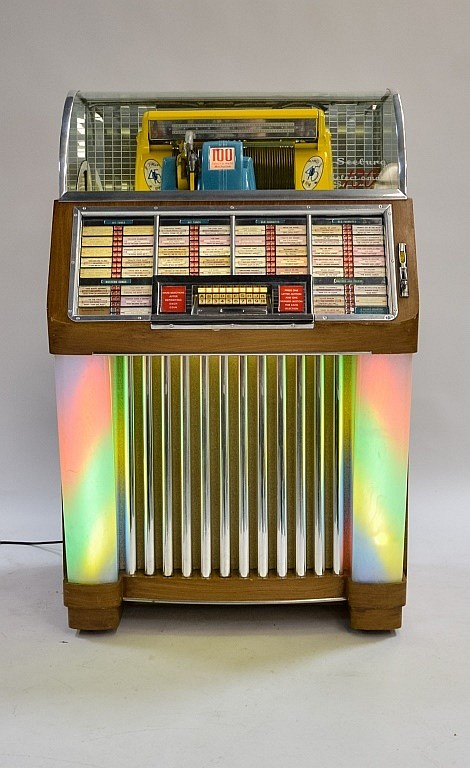 1952 Seeburg M100C Select-O-Matic Jukebox