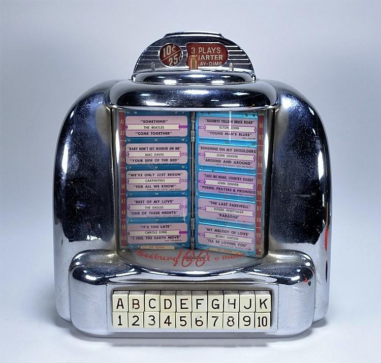 Seeburg 100 Wall-o-Matic Jukebox