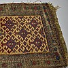 S.E. Persian Belouch Small Woven Bag Face Rug