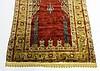 Antique C.1890 Turkish Silk Prayer Rug