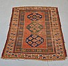 Antique C.1900 Caucasian Carpet Rug