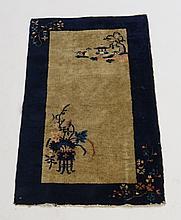 Antique 1920-30's Chinese Oriental Carpet Rug