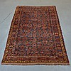 Persian Bidjar Burgundy & Blue Carpet Rug