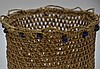 Northwest Coast Eskimo Russian Trade Bead Basket