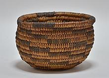 Apache Southwestern Native American Coil Basket