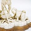 Japanese Signed Carved Ivory Figural Sculpture