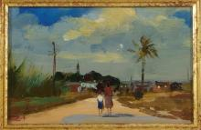 Roy Petley St. Phillips Parish Impressionist Paint
