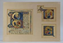 European Latin Illuminated Religious Manuscript