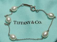 ed775f8bd Tiffany & Co. Elsa Peretti Pearl & Silver Bracelet