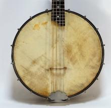 Vintage Banjo Mandolin Banjolin w/ Original Case