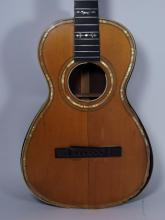 C.1960s Mother of Pearl Inlaid Acoustic Guitar