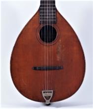1890s August Pollmann Royal A-Style Mandolin Banjo