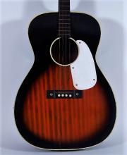 1970s Stella Tenor Burst Finish Acoustic Guitar