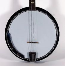 1990s Sovereign Tenor Banjo w/ Mandala Decoration