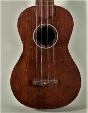 1970s Conrad Ukulele w/ Vintage Ditson Soft Case