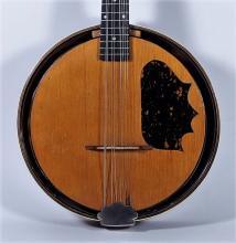 1920s Antique Dewick Bandonian Tortoloid Banjolin
