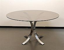 Table ronde Borsani Osvaldo Borsani pour Tecno, Italie, 1963.