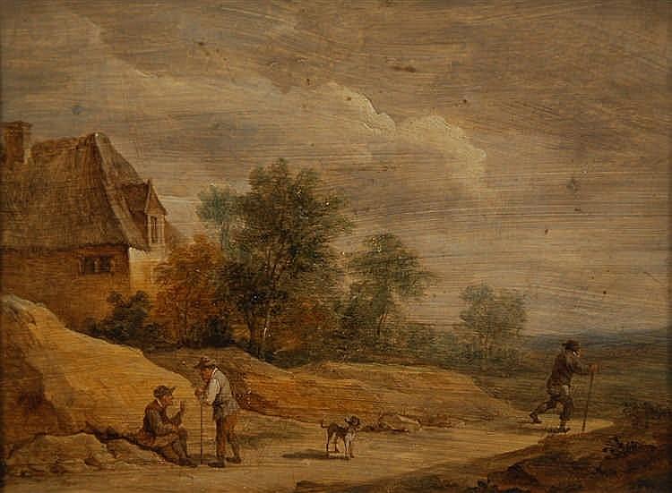 David Teniers II (1610-1690) (attribué à / toegeschreven aan) Vue