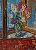 Henri - Victor Wolvens  (1896-1977) Vase de fleurs sur une ta, Henri Victor Wolvens, €0