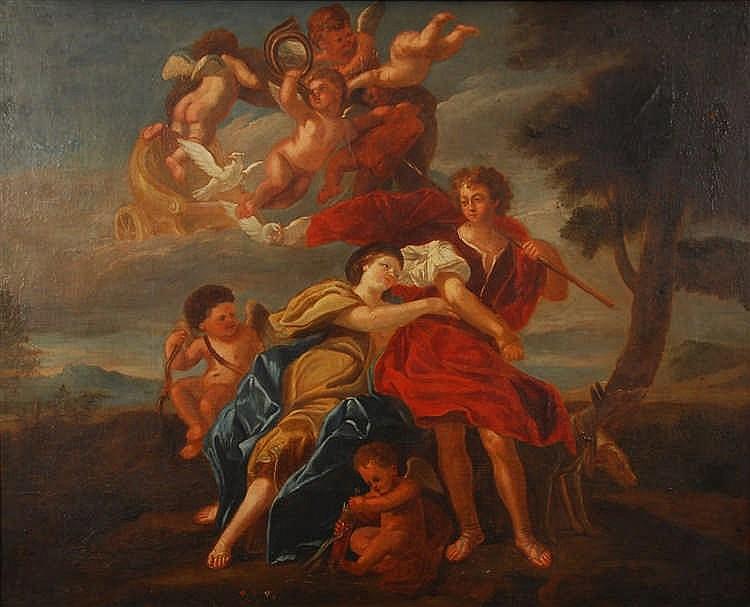 Charles Le Brun (1619-1690) (suiveur de / navolger van) Vénu