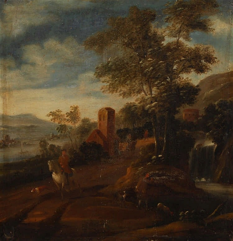 Marc Baets (début XVIIIe s. / begin 18de eeuw) (attribué à) Chass