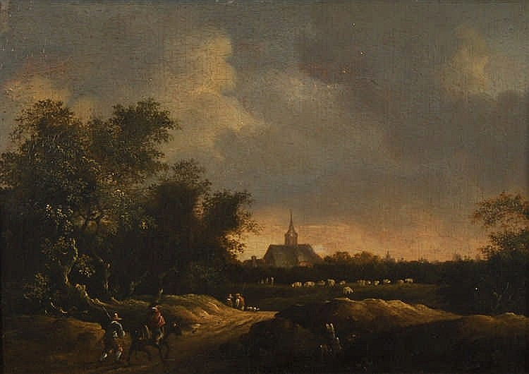 Jacob Isaaksz Ruisdael  (1628/29-1682) (suiveur de / navolger
