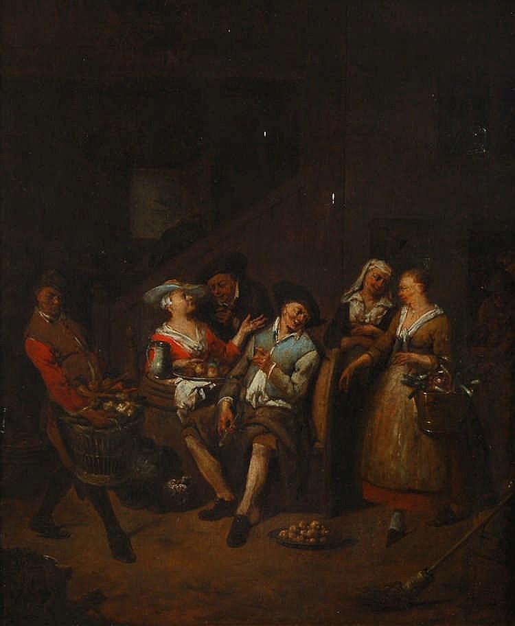 Jan Baptist Lambrechts  (1680-c.1735) (entourage de / omgevin