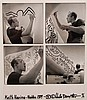 Wouter Deruytter  (1967-) Keith Haring, Knokke 1989 Quatre ph, Wouter Deruytter, Click for value
