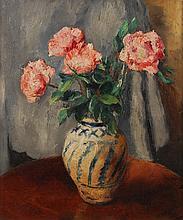 Charles Kvapil (1884-1958) Vase de fleurs